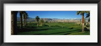Framed Golf Course, Desert Springs, California, USA