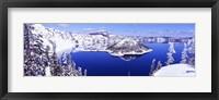 Framed USA, Oregon, Crater Lake National Park