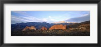 Framed Garden Of The Gods, Colorado Springs, Colorado