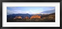 Framed Garden Of The Gods, Colorado Springs, Colorado