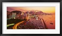 Framed Hong Kong