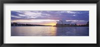 Framed Sunset over Sydney Opera House