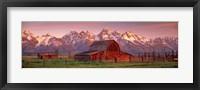 Framed Barn Grand Teton National Park WY USA