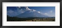 Framed Clouds over a mountain, Popocatepetl Volcano, Mexico