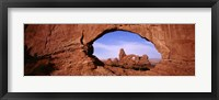 Framed Arches National Park, Utah