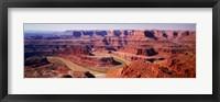 Framed River flowing through a canyon, Canyonlands National Park, Utah, USA