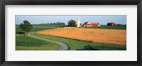 Framed Farm nr Mountville Lancaster Co PA USA