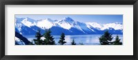Framed Turnagain Arm Girdwood AK USA