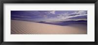 Framed Dunes, White Sands, New Mexico