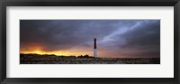 Framed Sunset, Barnegat Lighthouse State Park, New Jersey, USA