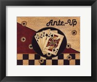 Ante Up Framed Print