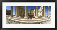 Framed Ruins of a temple, Parthenon, The Acropolis, Athens, Greece