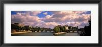 Framed France, Paris, Seine River