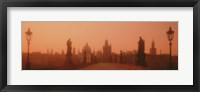Framed Daybreak Karluvmost Praha Czech Republic