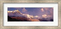 Framed Haute-Savoie, Mountains, Mountain View, Alps, France