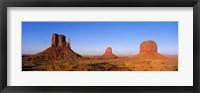 Framed Monument Valley Tribal Park, Navajo Reservation, Arizona, USA