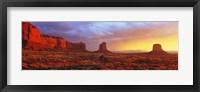 Framed Sunrise, Monument Valley, Arizona, USA