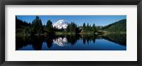Framed Eunice Lake Mt Rainier National Park WA USA