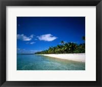 Framed Tahiti French Polynesia