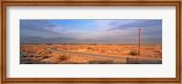 Framed Road Desert Springs CA