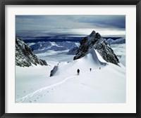 Framed Upper Fox Glacier Westland NP New Zealand