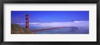 Framed Golden Gate Bridge, California, USA