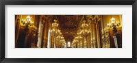 Framed Interiors of a palace, Paris, Ile-De-France, France