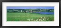 Framed French River, Prince Edward Island, Canada