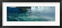 Framed Boat trip at Niagara Falls, Canada