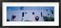 Framed Building With Balloon Decorations, Louisville, Kentucky, USA