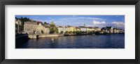 Framed Switzerland, Zurich, Limmat River