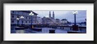 Framed Evening, Zurich, Switzerland