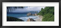 Framed Indian Ocean La Digue Island Seychelles