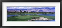 Framed Golf Course, Palm Springs, California, USA