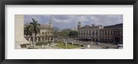 Framed High angle view of a theater, National Theater of Cuba, Havana, Cuba