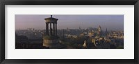 Framed High angle view of a monument in a city, Edinburgh, Scotland