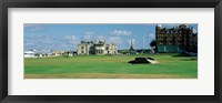 Framed Silican Bridge Royal Golf Club St Andrews Scotland