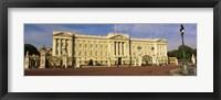 Framed Facade of a palace, Buckingham Palace, London, England