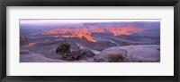 Framed Sunrise, Deadhorse State Park, Utah, USA