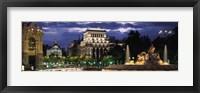 Framed Madrid, Spain