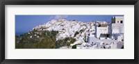 Framed Buildings, Houses, Fira, Santorini, Greece