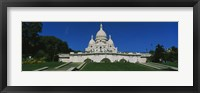 Framed Facade of a basilica, Basilique Du Sacre Coeur, Paris, France