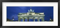 Framed High section view of a gate, Brandenburg Gate, Berlin, Germany