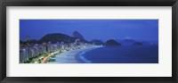 Framed Beach, Copacabana, Rio De Janeiro, Brazil