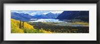 Framed Mantanuska Glacier AK USA
