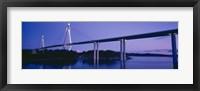 Framed Sunninge Bridge, Uddevalla, Sweden