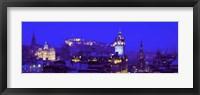 Framed Evening, Royal Castle, Edinburgh, Scotland, United Kingdom