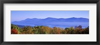 Framed Lake George, Adirondack Mountains, New York State, USA