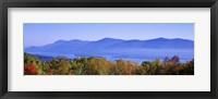 Framed Lake George, Adirondack Mountains, New York State, USA