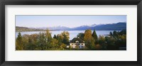 Framed Villa at the waterfront, Lake Zurich, Zurich, Switzerland